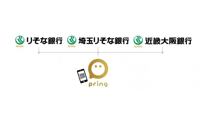 「つむぐ」の買い物でも利用可能な「pring」をご利用ください。